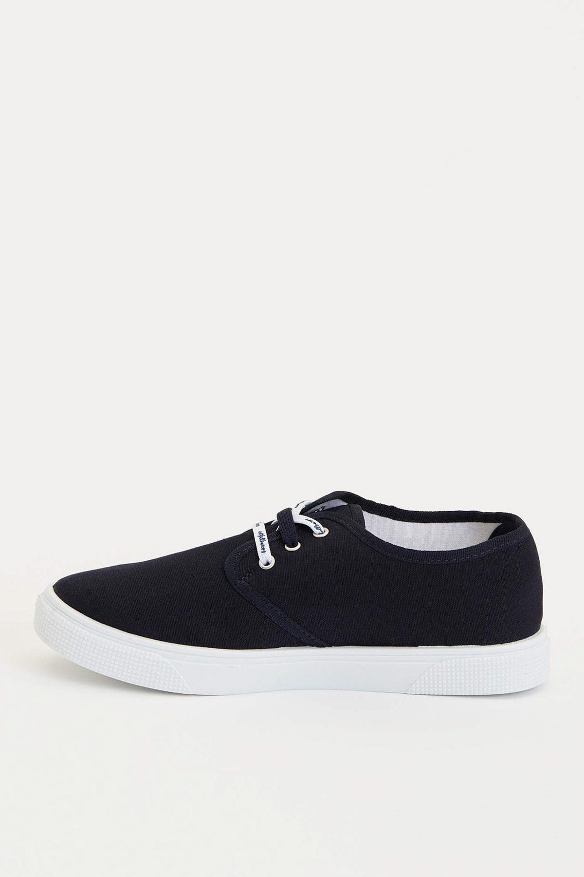 DeFacto Kadın Lacivert Bağcıklı Sneakers Ayakkabı R3460AZ.20SP.NV1 2