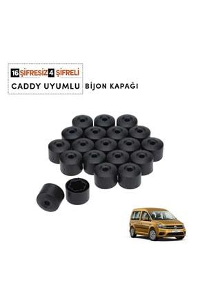 OEM Caddy 2004-2018 Bijon Kapağı (16 Adet Şifresiz 4 Adet Şifreli) 1k0601173