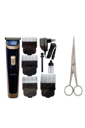 SHAVER Rfs-650 Saç Sakal Kesme Tıraş Makinesi Çelik Berber Makası Seti Traş