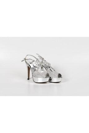 Karaca Kadın Simli Çapraz Bağ Ayakkabı