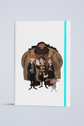 2K Dizayn Harry Potter Tasarım Deri Defter