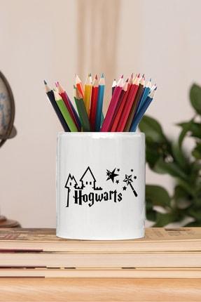 2K Dizayn Harry Potter Hogwarts Tasarım Seramik Kalemlik