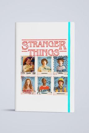 2K Dizayn Stranger Things Tasarım Deri Defter