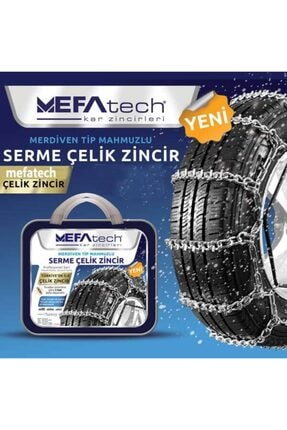 MEFATECH Merdiven Serme Kar Patinaj Zinciri 185/65x15 No640x13