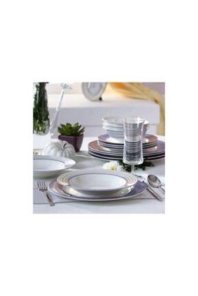 Pierre Cardin 24 Parça 6 Kişilik Günlük Yemek Takımı Lilac