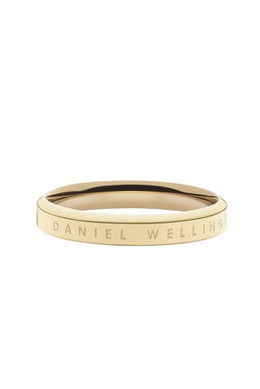 Daniel Wellington Classic Ring Yellow Gold  58 Çelik Yüzük