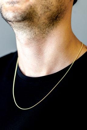 Cenova Kuyumculuk Erkek Altın Zincir Kolye 14 Ayar