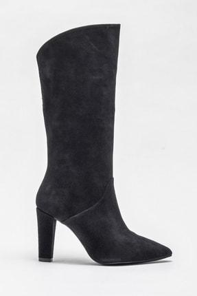 Elle Shoes Kadın Jorayn Sıyah Çizme 20KDS55212