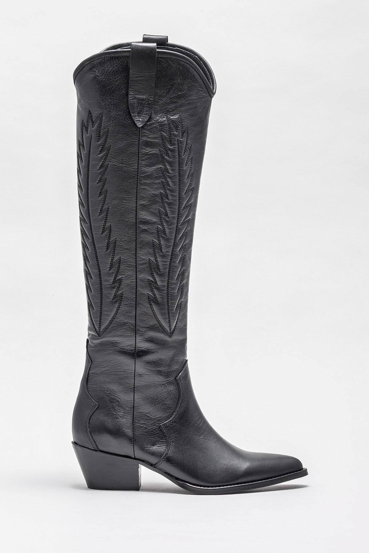 Elle Shoes Kadın COHAN-1 Çizme 20K045 1