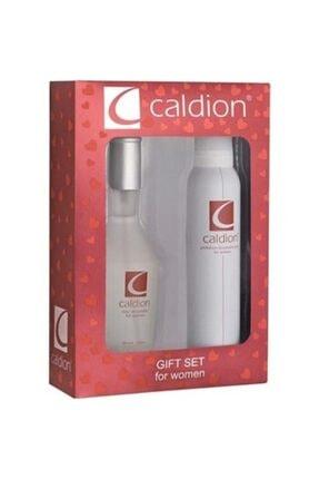 Caldion Classic Edt 100 ml Kadın Parfüm + 150 ml Deodorant Kofre Seti  6543334567899999987