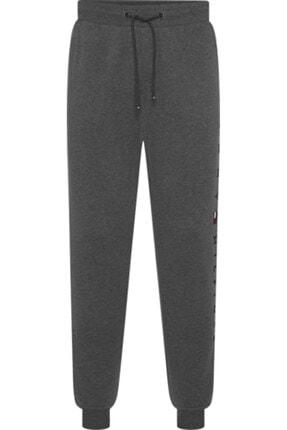 Tommy Hilfiger Erkek Gri Basic Branded Sweatpants