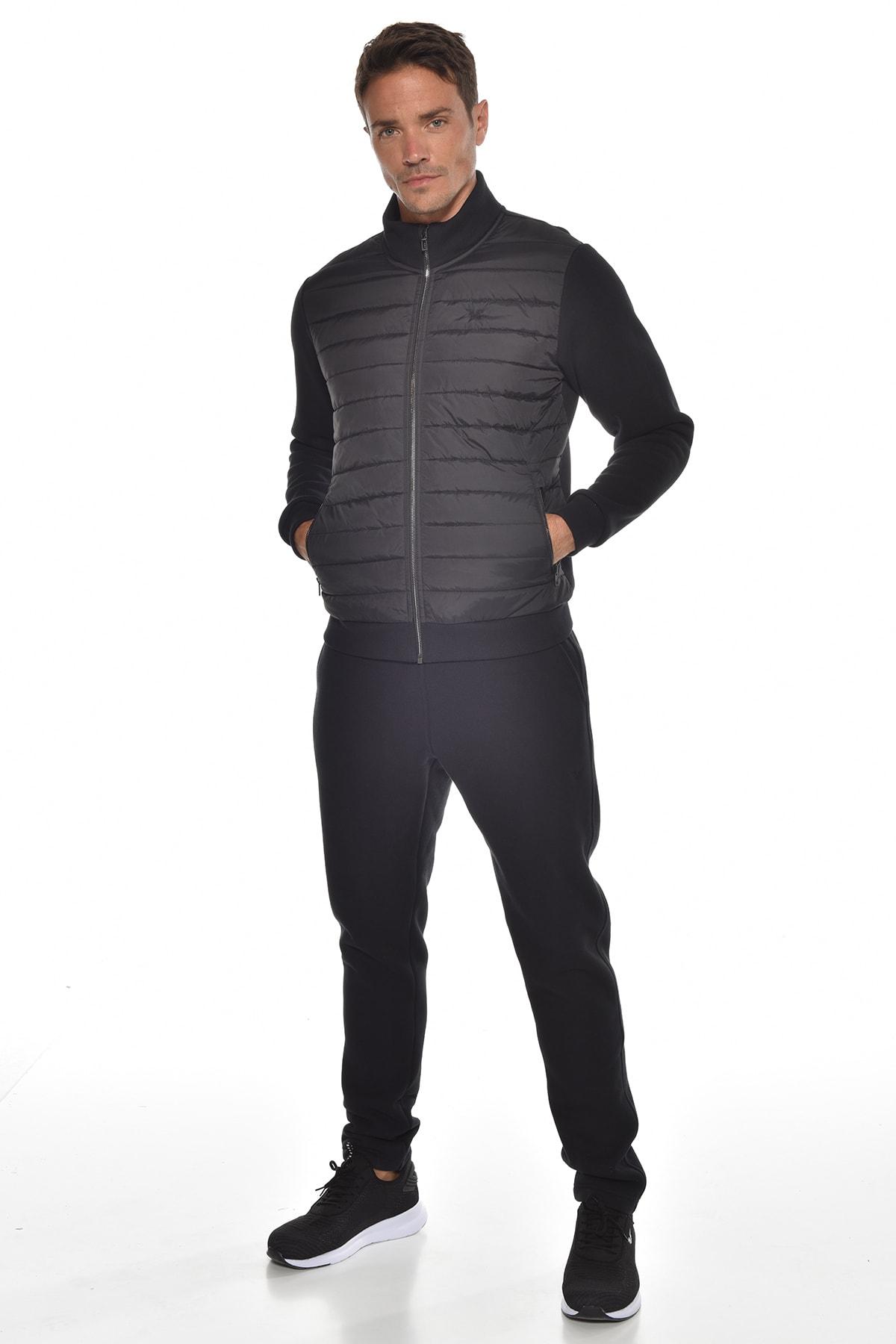 bilcee Siyah Erkek Eşofman Takım GW-9459 1