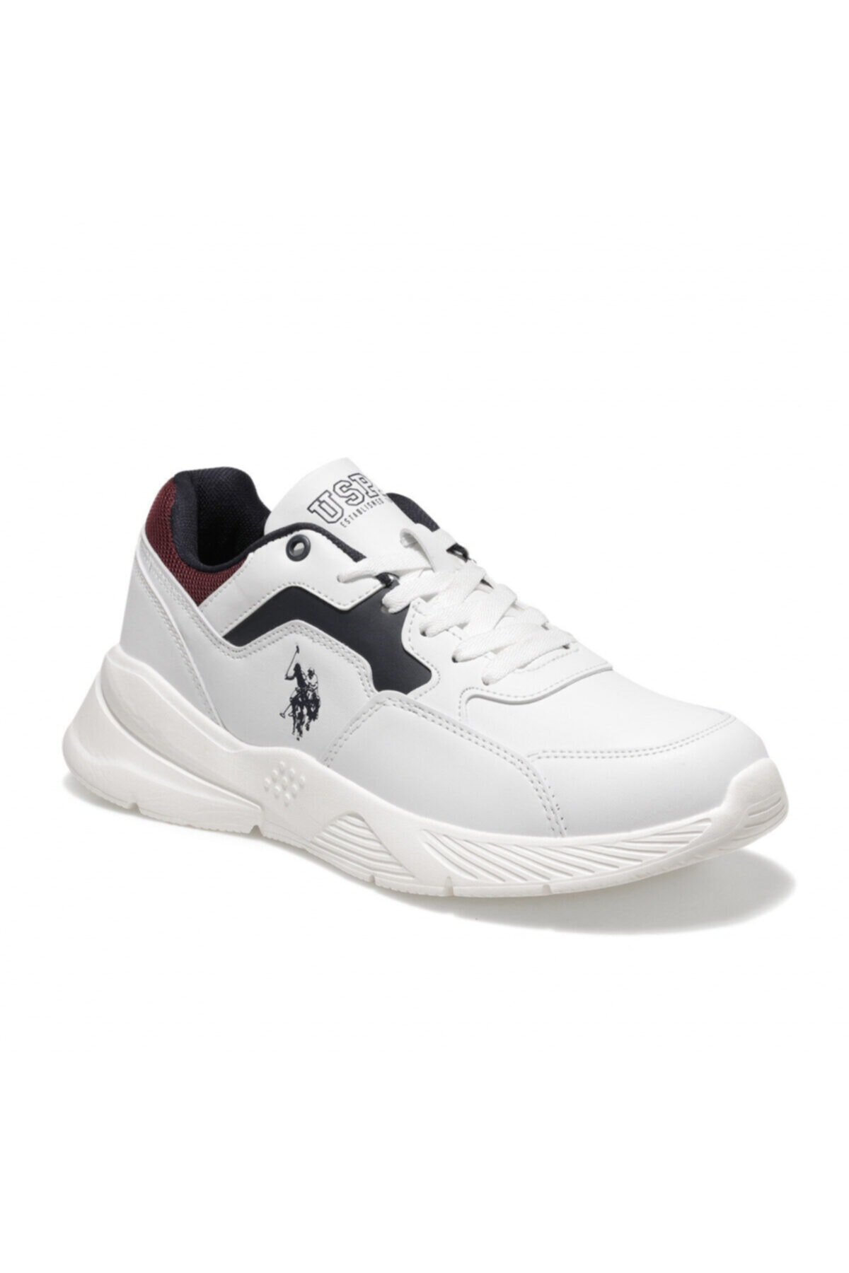 U.S. Polo Assn. FELIX Beyaz Erkek Sneaker Ayakkabı 100536521 1