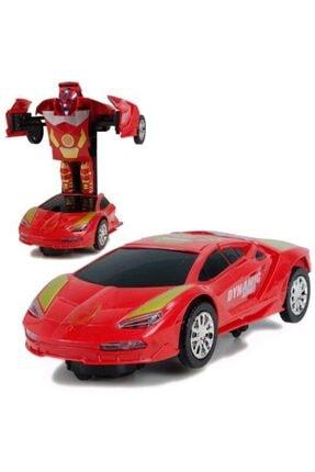 Hobtoys Ht-20 Demir Adam Iron Man Dönüşen Robot Oyuncak Araba