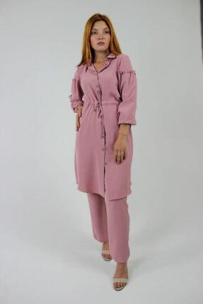 Loreen Kadın Gül Kurusu Tunik Pantolon İkili Takım
