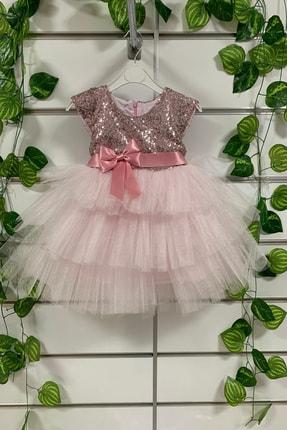 Pumpido Kız Çocuk Pembe Elbise