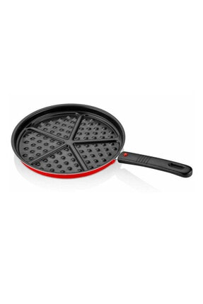 papilla Redio Waffle Tava 26 Cm Tak-çıkar Saplı Kırmızı 2016st023123228520
