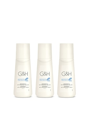 Amway G&h Protect Terlemeye Karşı Koku Giderici Roll-on Deodorant 3'lü Set