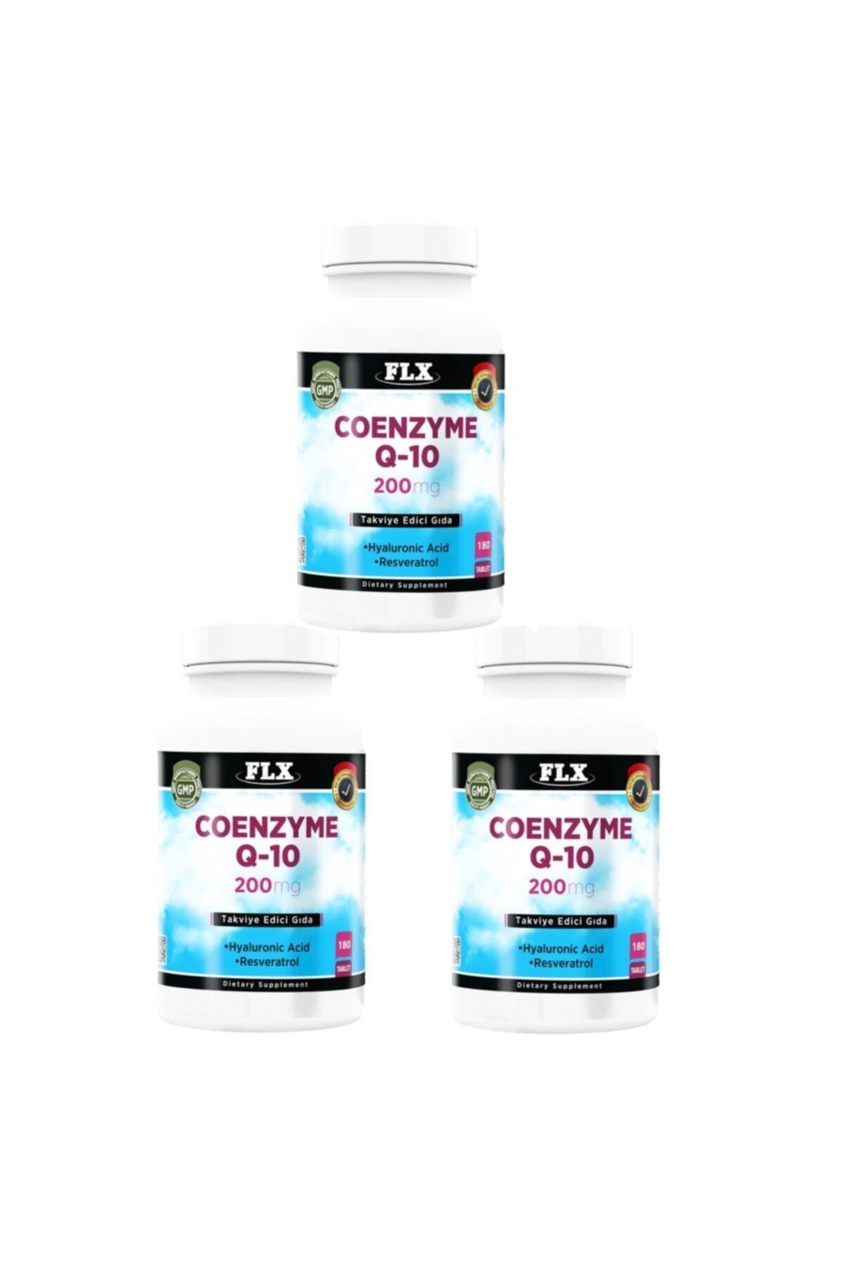 FLX Coenzyme Q-10 200 Mg Hyaluronik Asit 180 Tablet X 3 Kutu 1