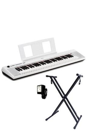 Yamaha Np12 Wh Piaggero Taşınabilir Dijital Piyano 61 Tuş (stand Hediye)