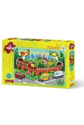 Art Puzzle Trafik 50 Parça 5+ Yaş Puzzle