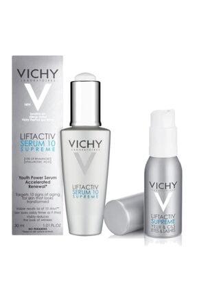 Vichy Liftactive Süpreme Serum Yüz Ve Göz Bakım Seti | 2 Ürünlü Orijinal Boy Kampanya