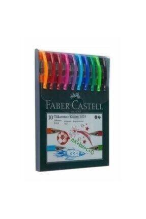 Faber Castell 10 Renk Tükenmez Kalem 1425