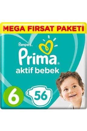 Prima Fırsat Paketi 6 Numara Bebek Bezi 56lı *2 Adet