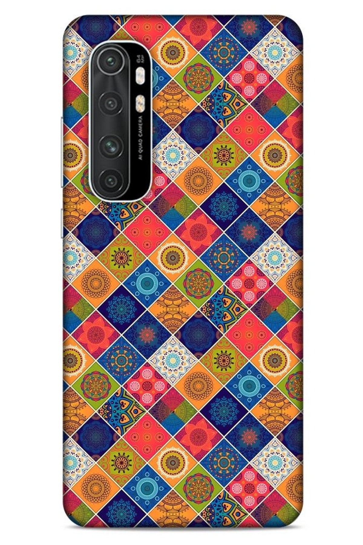 Lopard Ethnic Culture  Xiaomi Mi Note 10 Lite Kılıf Silikon Kapak 1