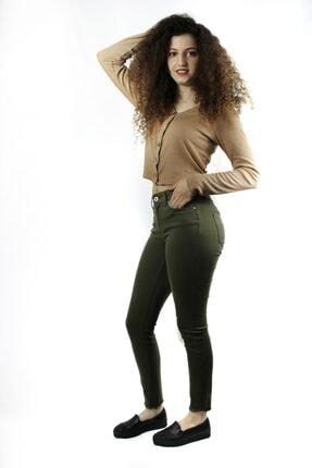 Only Kadın Yeşil Jeans