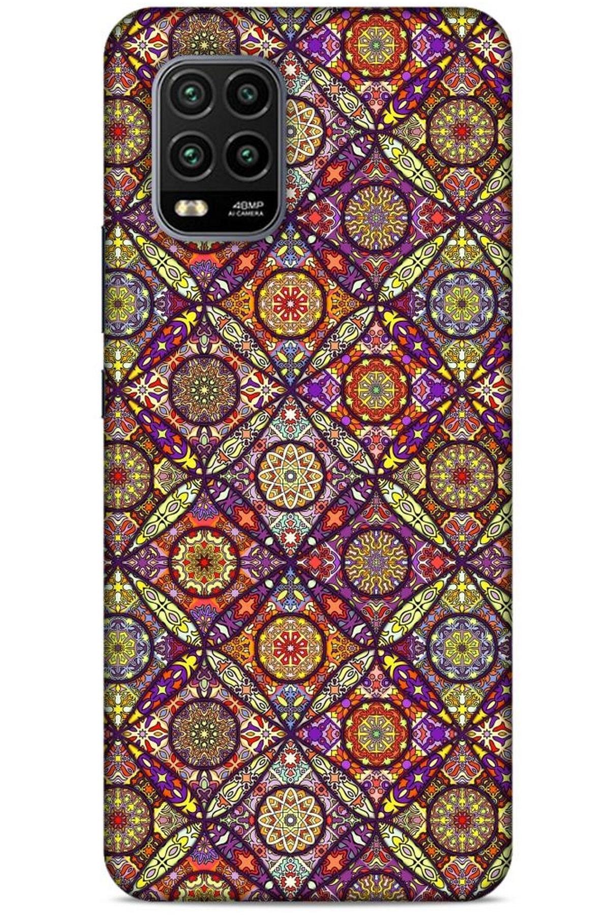 Lopard Ethnic Culture (96) Xiaomi Mi 10 Lite Kılıf Silikon Kapak Desenli 1