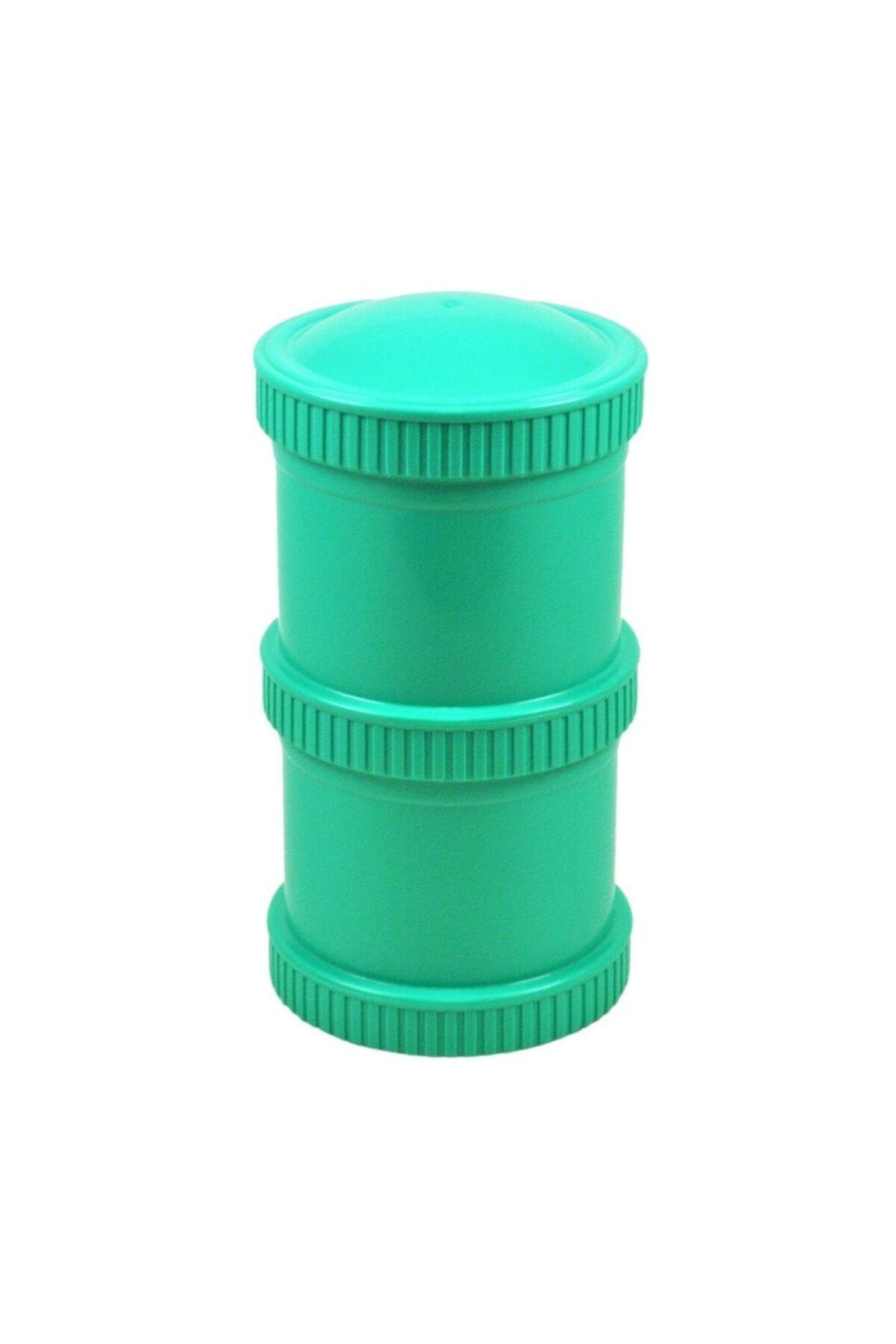 Replay Çift Katlı Saklama Kabı - Su Yeşili 2