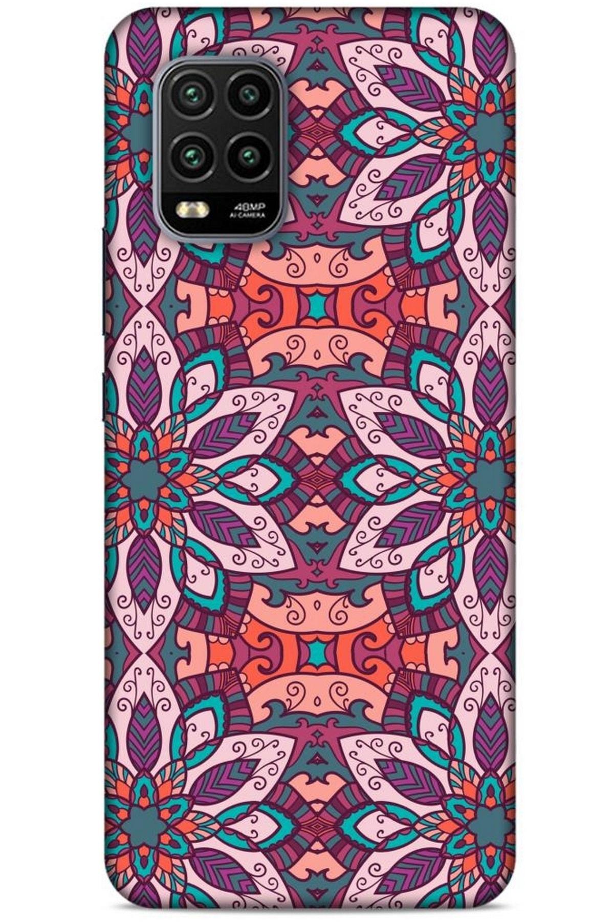 Lopard Ethnic Culture (8) Xiaomi Mi 10 Lite Kılıf Silikon Kapak Desenli 1