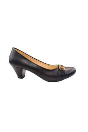 Women Shoes Kadın Siyah Yumurta Topuklu Ayakkabı