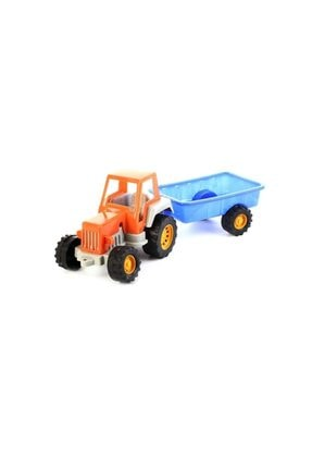 Uçarkid Uçar Kid 152 Oyuncak Traktör Römorklu 43 Cm