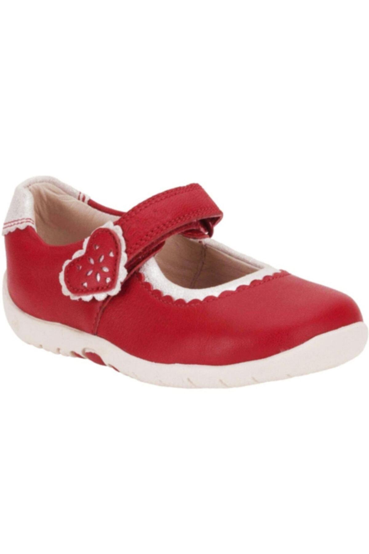 CLARKS Kız Çocuk Kırmızı Ayakkabısı 1