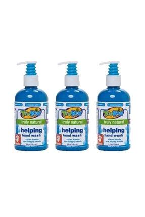 Trukid Helping Hand Wash - Doğal El Sabunu 236 ml 3 Lü Ekopaket