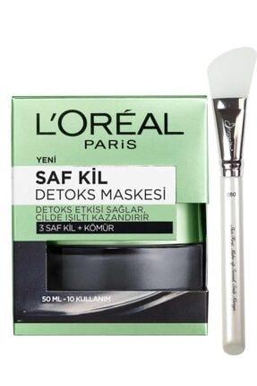 L'Oreal Paris Detoks Maske 50 ml ve Nascita Silikon Maske Fırçası