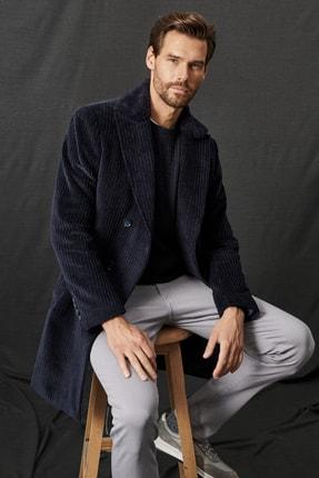 ALTINYILDIZ CLASSICS Erkek Lacivert Standart Fit Klasik Kışlık Palto