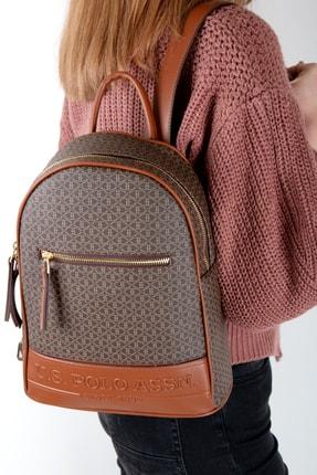 U.S. Polo Assn. Kadın Kahverengi  Sırt Çanta Us20675