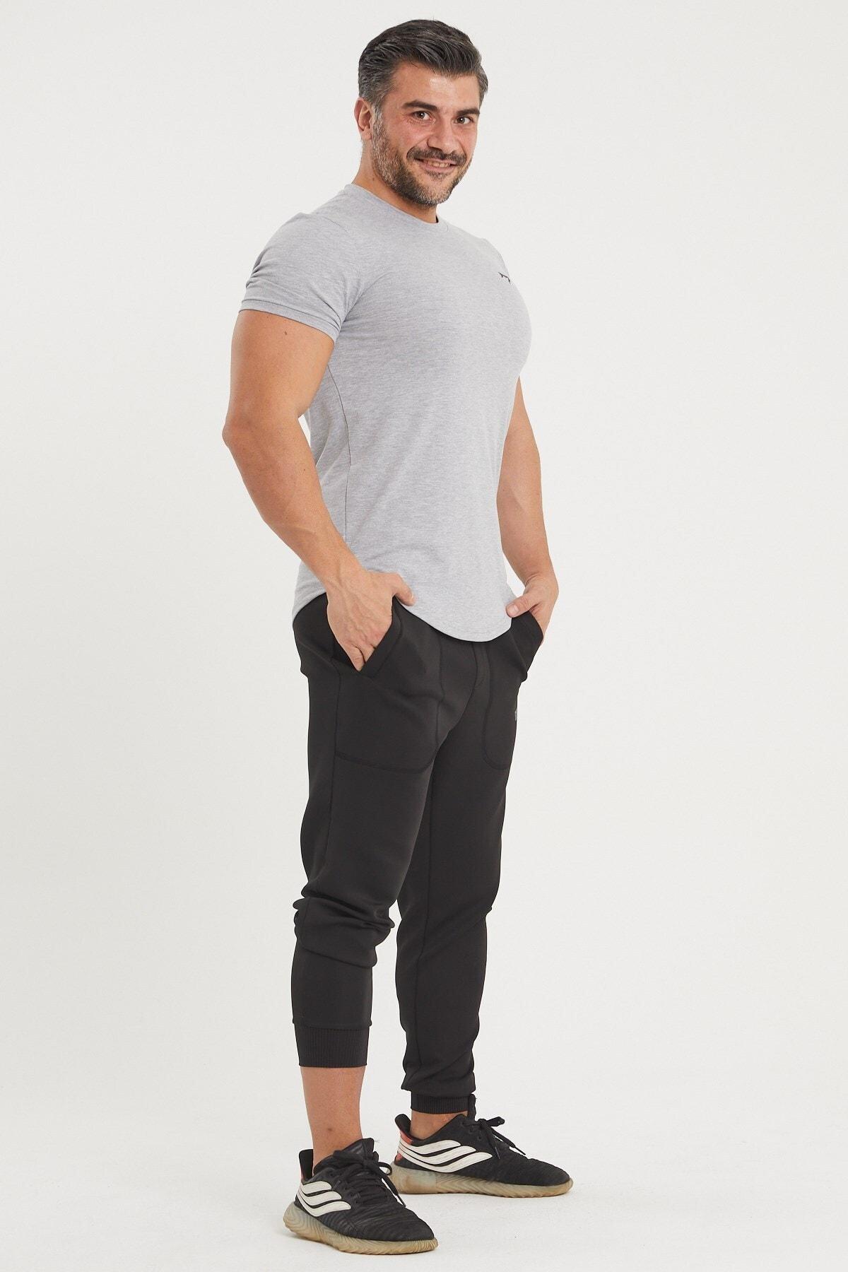 Gymwolves Spor Erkek T-shirt   Gri   T-shirt   Workout Tanktop   2