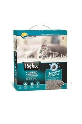 Reflex Aktif Karbonlu Topaklanan Kedi Kumu 6 Litre