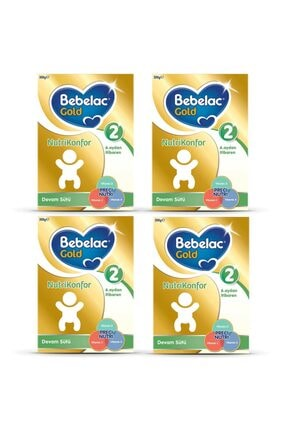 Bebelac Gold Nutrikonfor 2 Devam Sütü 300 Gr 4 Lü Paket