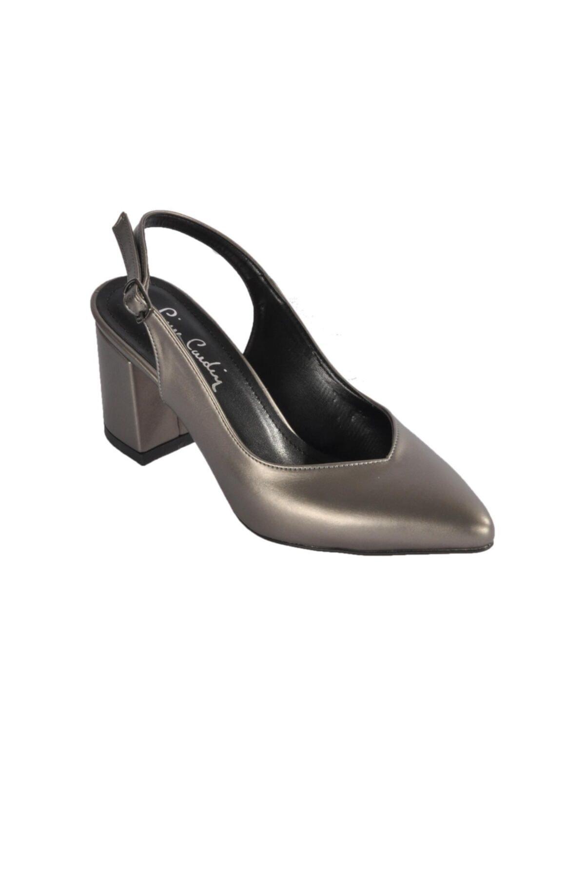 Pierre Cardin Kadın Platin Topuklu Ayakkabı Pc-50173 1
