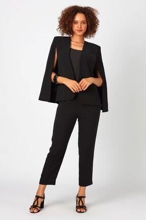 DGL Fashion Kadın Siyah Takım Elbise