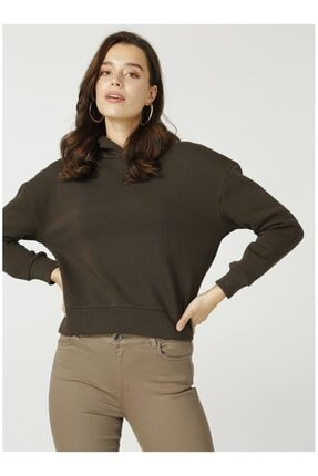 Fabrika Kadın Haki Sweatshirt