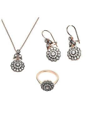 Söğütlü Silver Elmas Modeli Üçlü Set