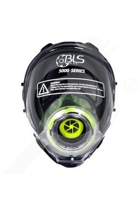 BLS 5150 Serisi 8001035 Class 3 Termoplastik Rd40 Tam Yüz Gaz Maskesi