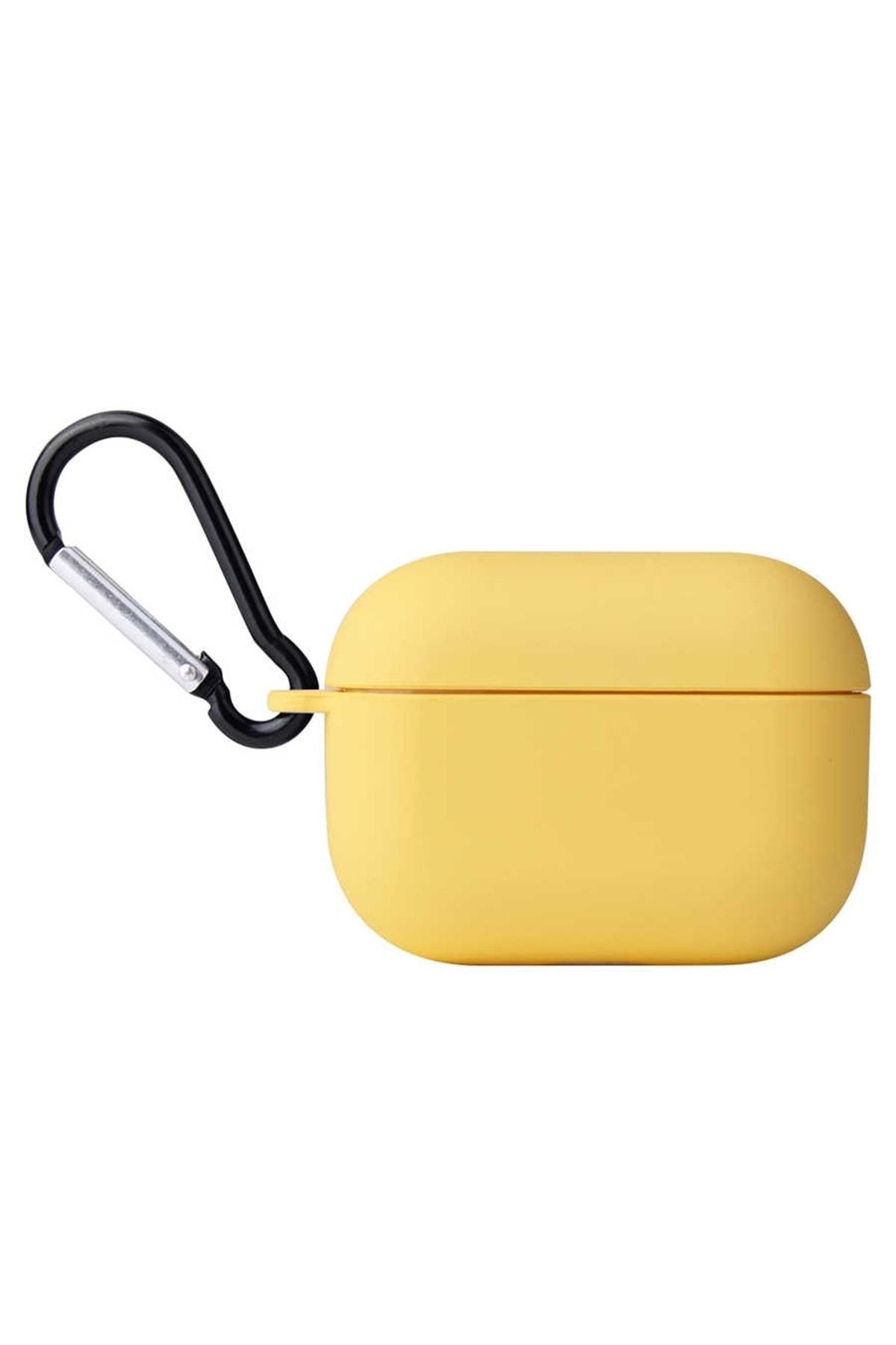 zore Sarı Apple Airpods Pro Kılıf Airbag 11 Silikon 1