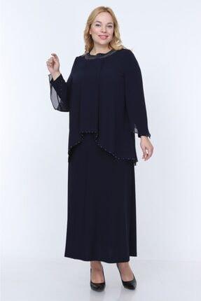 Sevista Kadın Lacivert Elbise